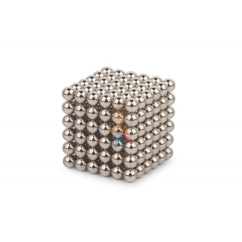 Forceberg Cube - куб из магнитных шариков 7 мм, стальной, 216 элементов