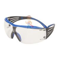 Cалфетки очищающие 3M, для ухода за очками, 100 шт. в индивидуальных упак. - Очки открытые защитные, цвет линз прозрачный, с покрытием Scotchgard Anti-Fog (K&N)